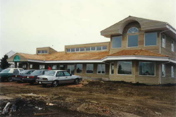 Construction of Greenland Garden Centre in 1990